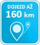 160km dojezd
