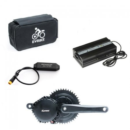 Motor power 1000W, capacity of a bag battery 13Ah with a range of up to 100 km