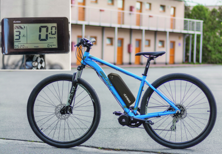 COMFORT KIT FOR ORDINARY CYCLING - Motor power: Standard 250W, Battery range and location: Frame, range up to 170 km (19Ah, 684Wh), Charging speed: Faster 5 A, Display type: LCD C961