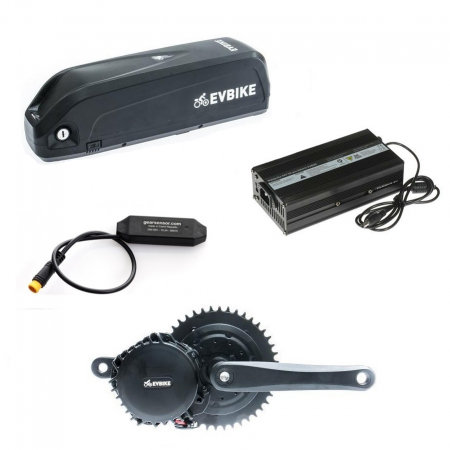 Motor power 1000W, capacity of a frame battery 16Ah range of up to 120 km