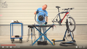 Video tutorial for converting a bike to an e-bike using a set with hub-drive to the rear wheel