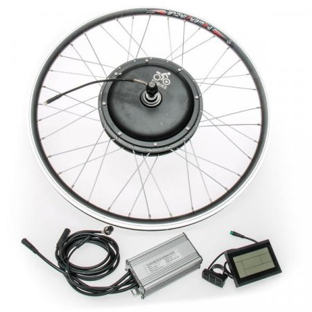"""Front hub-drive 500W / 750W, 26"""", control unit and LCD display"""
