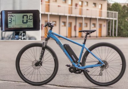 COMFORT KIT FOR ORDINARY CYCLING - Motor power: Standard 250W, Battery range and location: Frame, range up to 130 km (13Ah, 468Wh), Charging speed: Faster 5 A, Display type: LCD C961