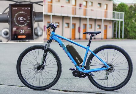 SET POWER FOR DEMANDING AND HEAVIER RIDERS - Motor power: 750W + gearsensor, Battery range and location: Frame, range up to 180 km (16Ah 768Wh), Charging speed: Standard 2 A, Display type: Full color LCD C18 with USB