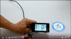 Video tutorial for LCD display C961