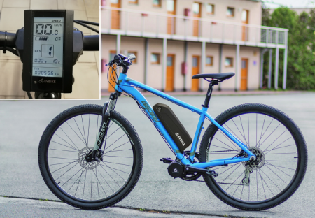 SET POWER FOR DEMANDING AND HEAVIER RIDERS - Motor power: 750W + gearsensor, Battery range and location: Frame, range up to 140 km (13Ah 624Wh), Charging speed: Faster 5 A, Display type: LCD C965