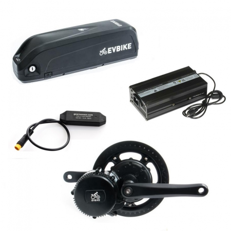 Motor power 750W, capacity of a frame battery 16Ah range of up to 120 km