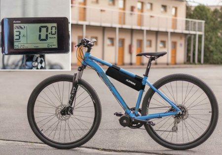 SET POWER FOR DEMANDING AND HEAVIER RIDERS - Motor power: 750W + gearsensor, Battery range and location: Smaller bag, range up to 140 km (13Ah 624Wh), Charging speed: Standard 2 A, Display type: LCD C961