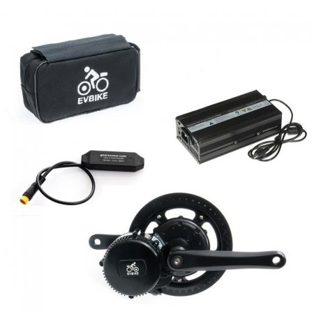 Motor power 750W, capacity of a bag battery 13Ah with a range of up to 100 km