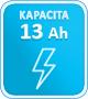13 ah