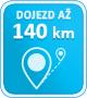 130km dojezd