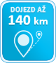 140km dojezd