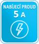 5A nabíjecí proud